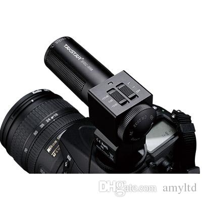 Hot Takstar SGC-698 camera interview microphone stereo DSLR Camera Camcorder shotgun mic Cardioid Hyper-cardioid Directivity