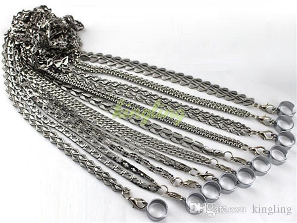 EGO Metal Cordão EGO Colar para E-cigarro EGO Cordas trabalho para EGO EGO-T EGO-VV Bateria de CE4 Clearomizer DCT Atomizador Pro tanque