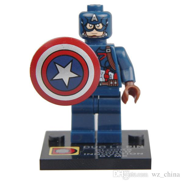 New Super Hero The Avengers 2 Iron Man Hulk Wolverine Batman Spiderman Captain American Action Figure Toy