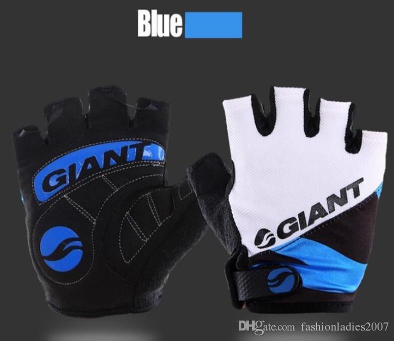 Giant Half Finger guantes de ciclismo para hombres y mujeres Hot Brand Slip para mtb bicicleta guantes de bicicleta transpirable ciclismo racing luvas sport guante