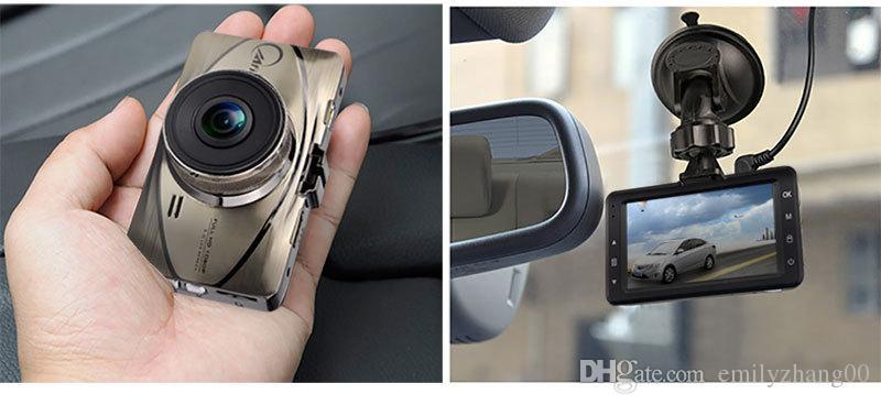 "New Metal 3"" LCD 170 Degree HD1080P Car Camera Video Recorder Motion Detection Loop Recording 24hour G sensor Car Dvr dash Cam Camcorder"