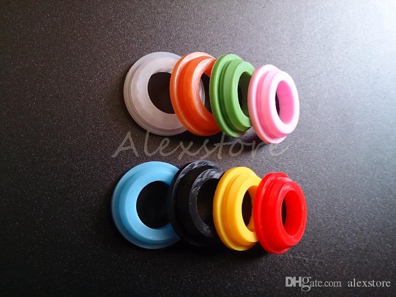 Silicone O ring colorful silicon Seal replacable O-rings replacement Orings for Altantis and Nautilus mini E cig RBA Tank atomizer