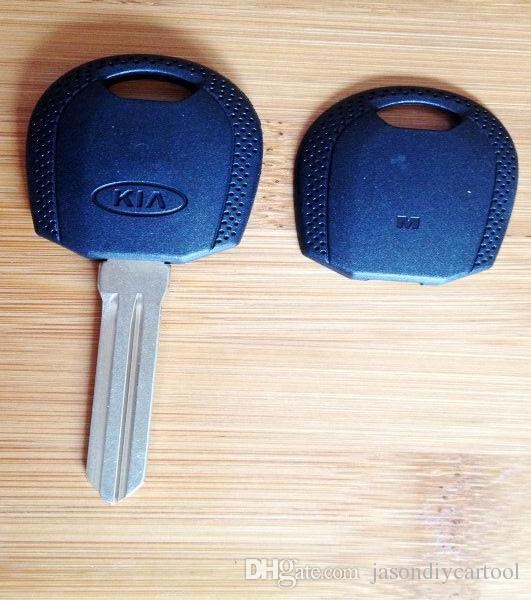 Vervangingskoffer voor KIA-transponder Key Shell Right Blade Binnen Extra voor TPX1, TPX2