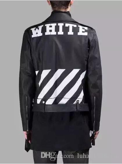 Discount 2015ss Virgil Abloh Off White Women And Men Denim Leather ...