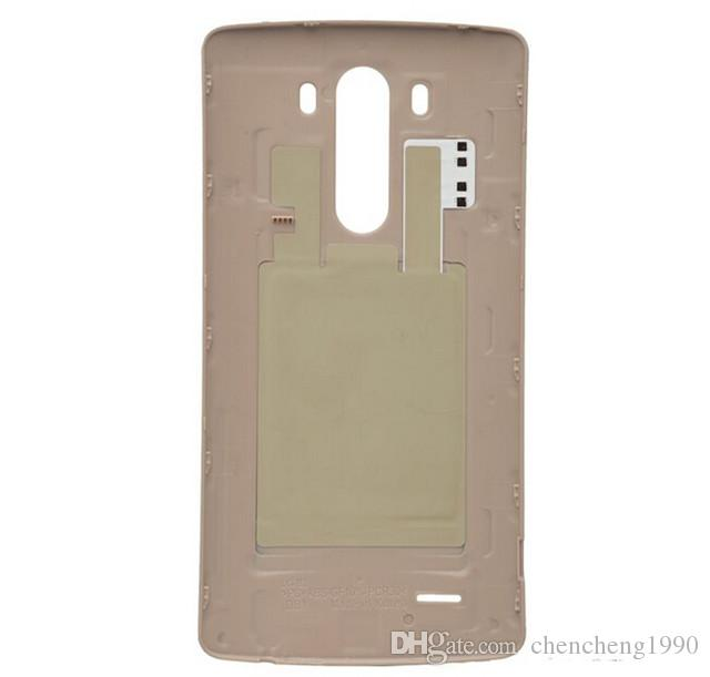 New Original Battery Cover For LG G3 D850 D851 D855 LS990 VS985 Back Cover Housing Door Case With NFC Chip