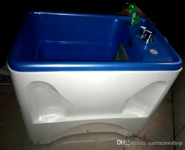 pet spa bathtub dog cat wash massage pool nano bubbles milk bath ...