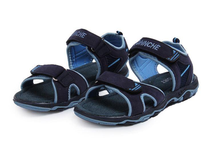 2014 Sandales en cuir pour garçons Girs causal enfants été doux chaussures de plage Sole haute qualité