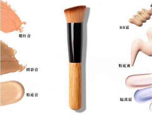 Multi-Função Pro Pincéis de Maquiagem Em Pó Corretivo Blush Líquido Fundação Make up Brush Set De Madeira Escova Kabuki Cosméticos DHL