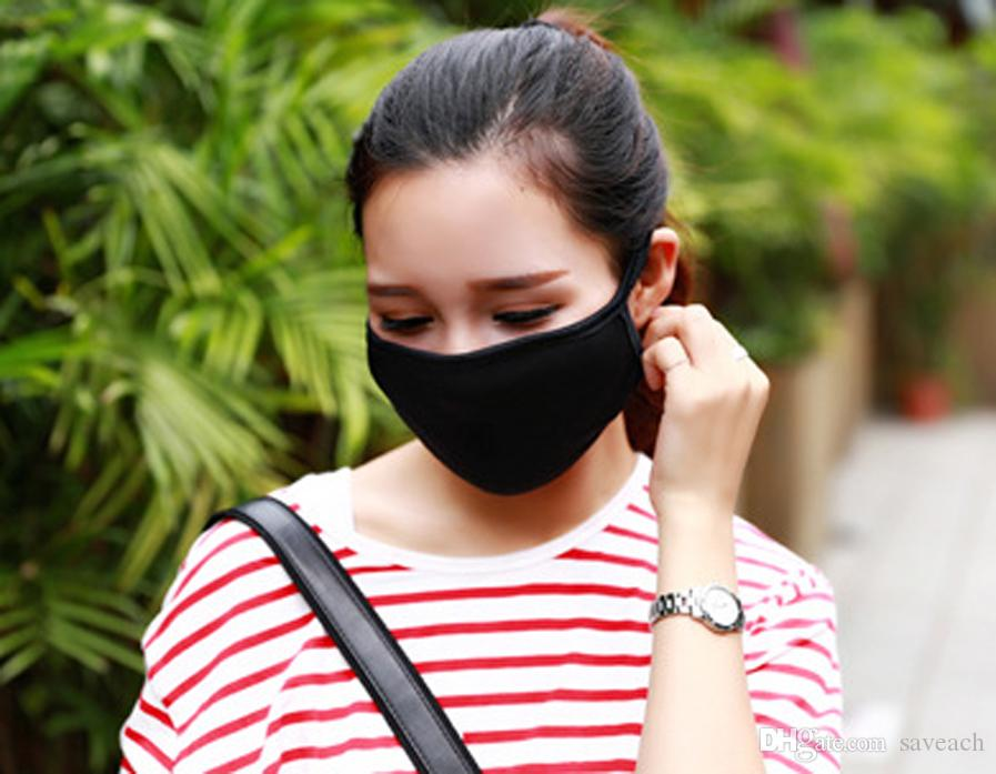 Anti-Dust Cotton Mouth Face Mask Unisex Man Woman Cycling Wearing Black Fashion High quality