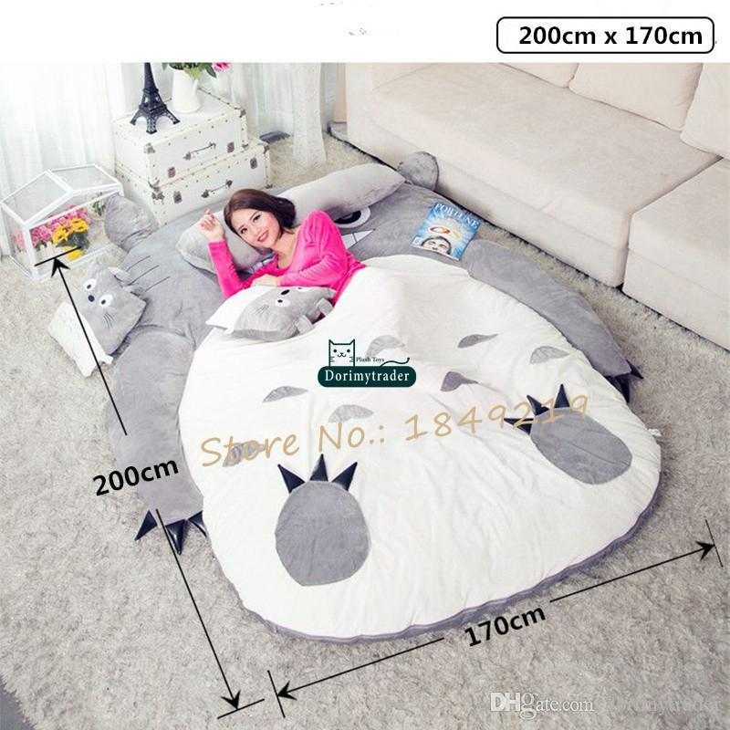 Admirable Dorimytrader Pop Anime Totoro Plush Beanbag Soft Sleeping Bag Bed Sofa Tatami Sofa 5 Sizes Kids And Adults Gift Decoration Dy61809 Canada 2019 From Inzonedesignstudio Interior Chair Design Inzonedesignstudiocom