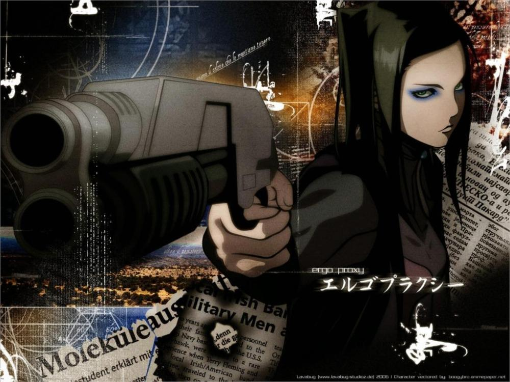 Kết quả hình ảnh cho Ergo Proxy anime