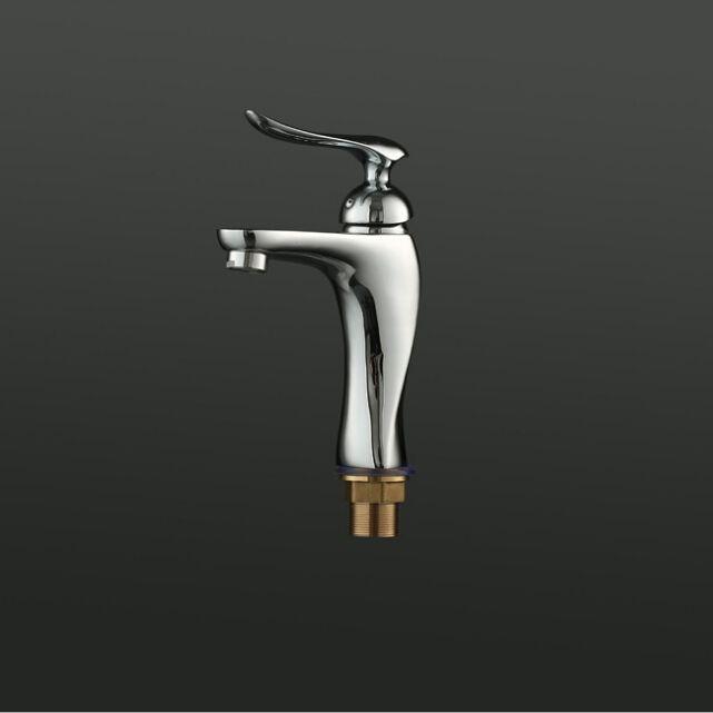 2018 Newest Contemporary Design Solid Brass Bathroom Faucet Chrome ...