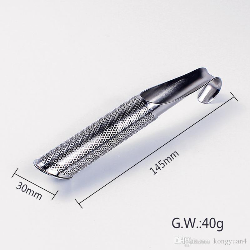 304 Stainless Steel Tea Leaf Strainer Infuser Tea Pipe Filter Sticks Good Drinkware Tools