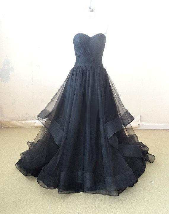 Colorful Black Gothic Wedding Dresses Real Pictures Fashion Sweetheart Tulle Floor Length Corset Victorian Bridal Gowns Vestidos de Novia