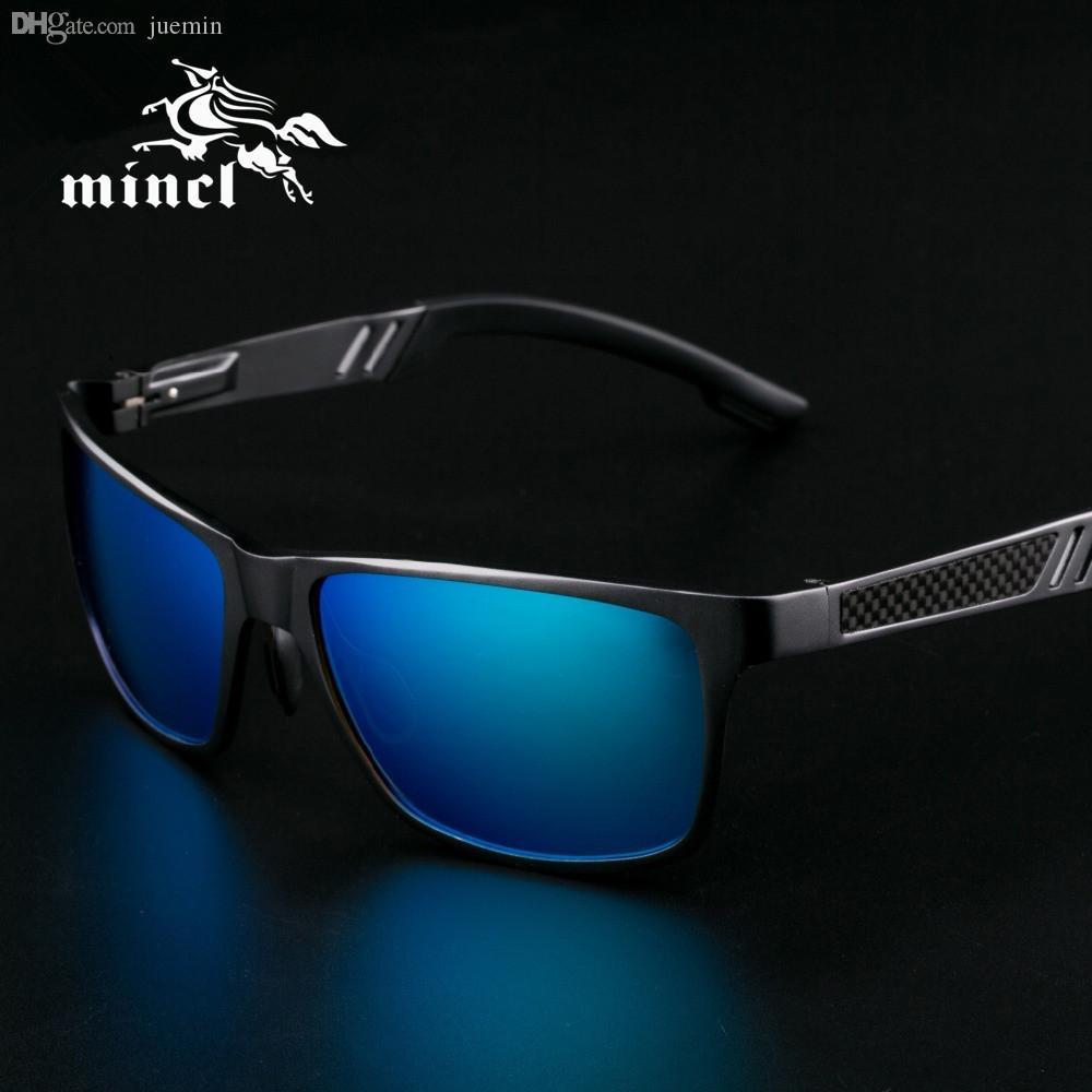 Compre Atacado Alumínio De Magnésio Óculos De Sol Homens Óculos De Sol  Polarizados Super Leve Dirigindo Óculos De Sol Óculos De Proteção Óculos  Acessórios ... 1f989c5cea