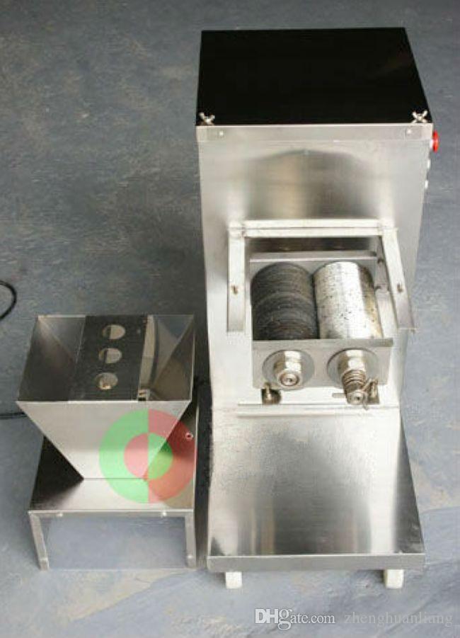 Großhandel - Freies Verschiffen 750W 240V QW Fleischschneidemaschine, Fleischschneider, Fleischschneider, 800kg / HR Fleischverarbeitungsmaschinen