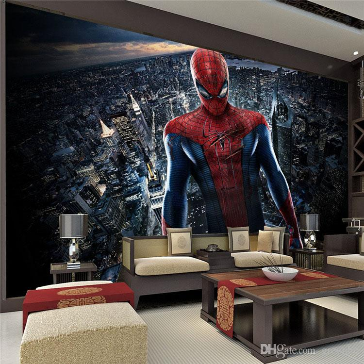 Amazing Spider Man Wall Mural Marvel Heroes Photo Wallpaper Movie Poster  Silk Large View Wall Stickers Room Decoration Bedroom Children Room 3D Wall  Poster ... Part 37