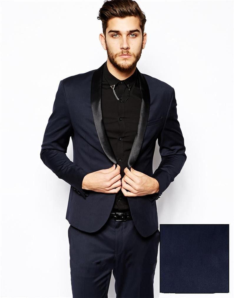 Latest Custom Made Dress The Groom Wedding Suit Jacket Men