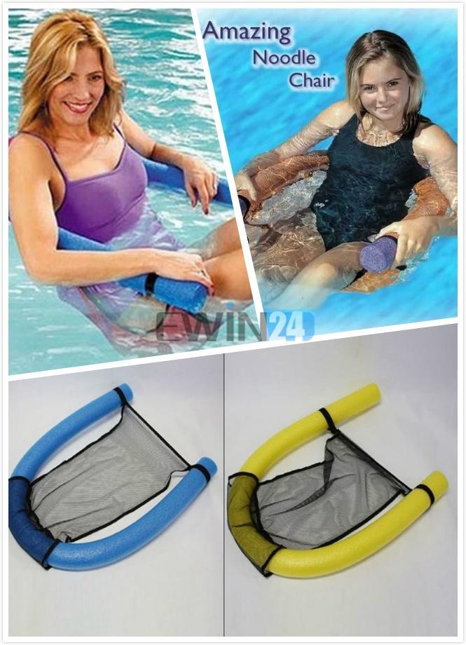 Großhandel Erstaunliche Nudel Stuhl Stuhl Lounger Wasser Schwimmbad