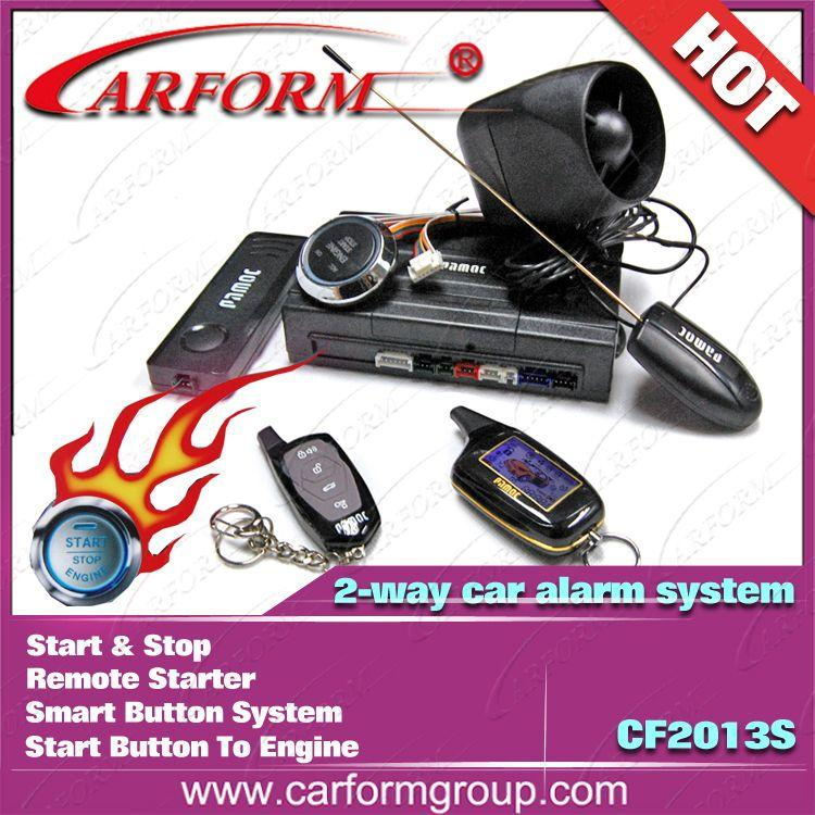 Online Cheap Two Way Car Alarm System Remote Starter Smart Button
