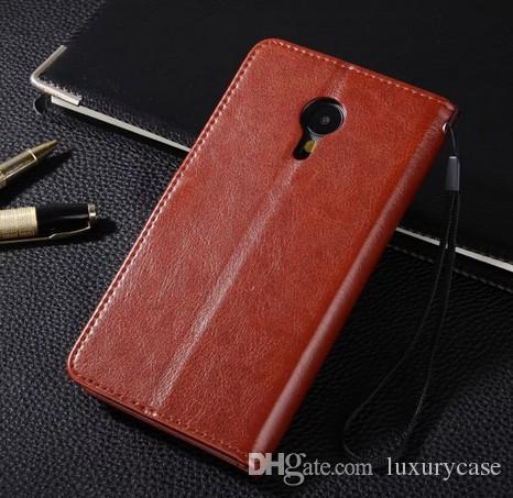Классический кошелек для Meizu MX5 задняя крышка ультра-тонкий флип роскошный оригинальный красочный стенд симпатичные кожаный чехол для Meizu MX5