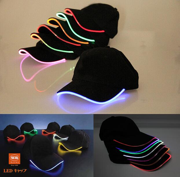 lighted baseball cap manufacturers hats glow club party led caps