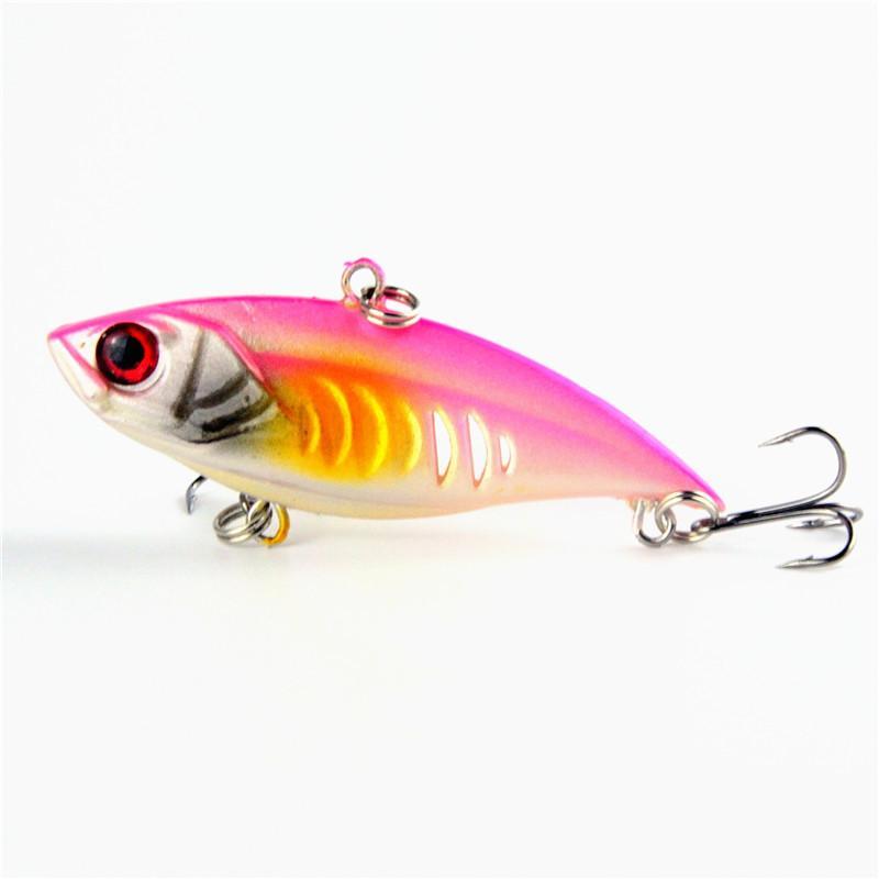 Sınırlı Doğrudan Satış Vib Balıkçılık Lures Kanca 6.5 cm 10.4g Wobbler Crankbait Pike Yayın Balığı swimbaits Gerçekçi yem