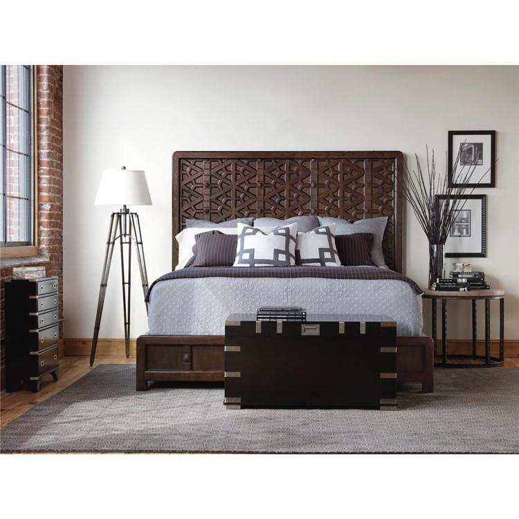 2019 Modern American Country After Pp Custom Solid Wood Bedroom