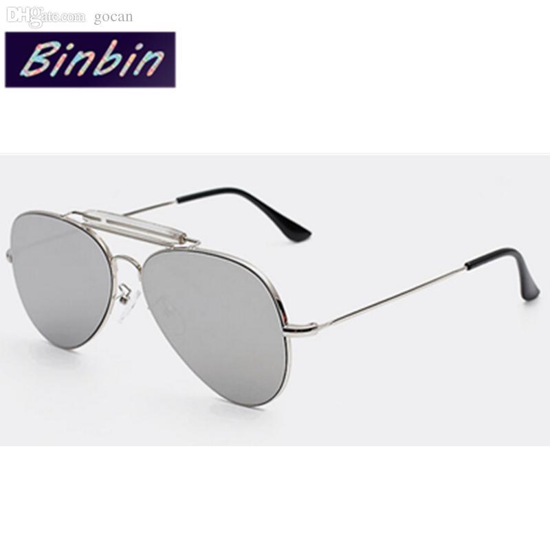 3d863ec59e Wholesale 2016 Mirrored Sports Sunglasses Men Vintage Driving Sun Glasses  For Women Brand Fashion Metal Frame Top Flat Sunglass CD Oculos Reading  Glasses ...
