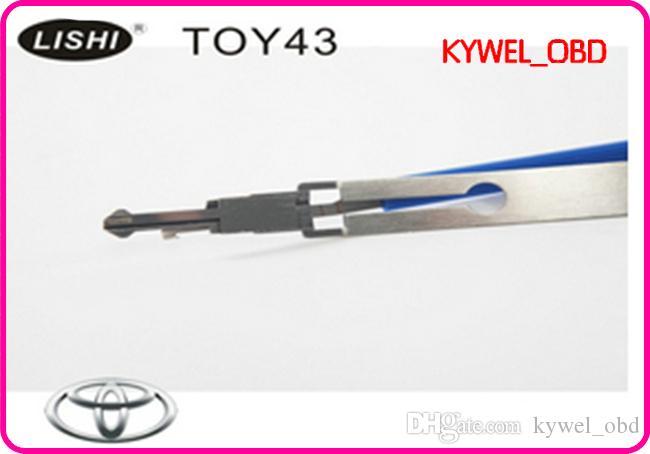 Toyota Camry kilit seçim aracı Için LISHI TOY43AT, Toyota Camry araba kapı açacağı, Toy43AT Çilingir aracı