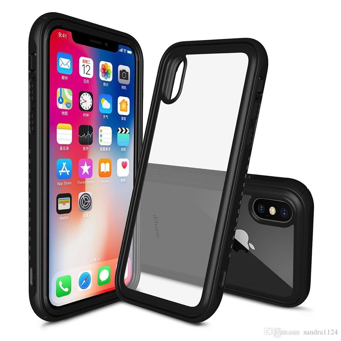 new product ff1a0 ba4ce For Iphone X Case Ultra Thin Transparent Soft Tpu Smartphone Protector  Shockproof Waterproof Ergonomic Anti Slip Design Cell Phone Pouch  Personalized ...