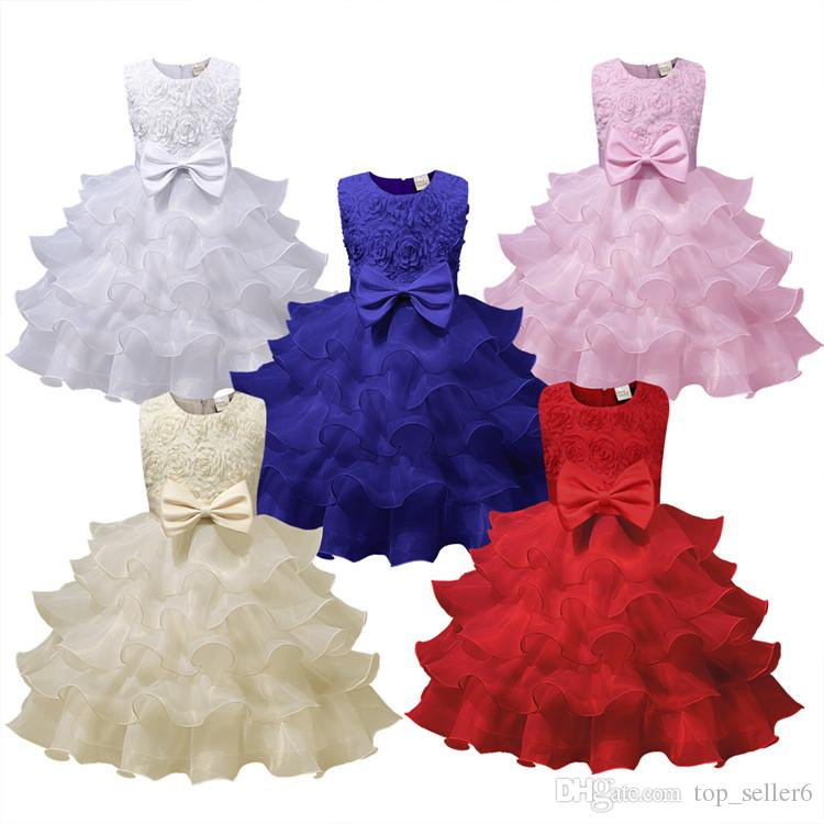 52b4275b3d00 2019 Girls Dresses Autumn Winter Baby Dress Fashion Candy Solid ...
