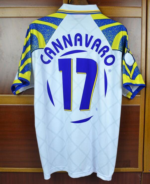 98511ecd3c3 Retro Jersey 1996 97 Parma Crespo Cannavaro Jersey Shirt Have Shorts ...