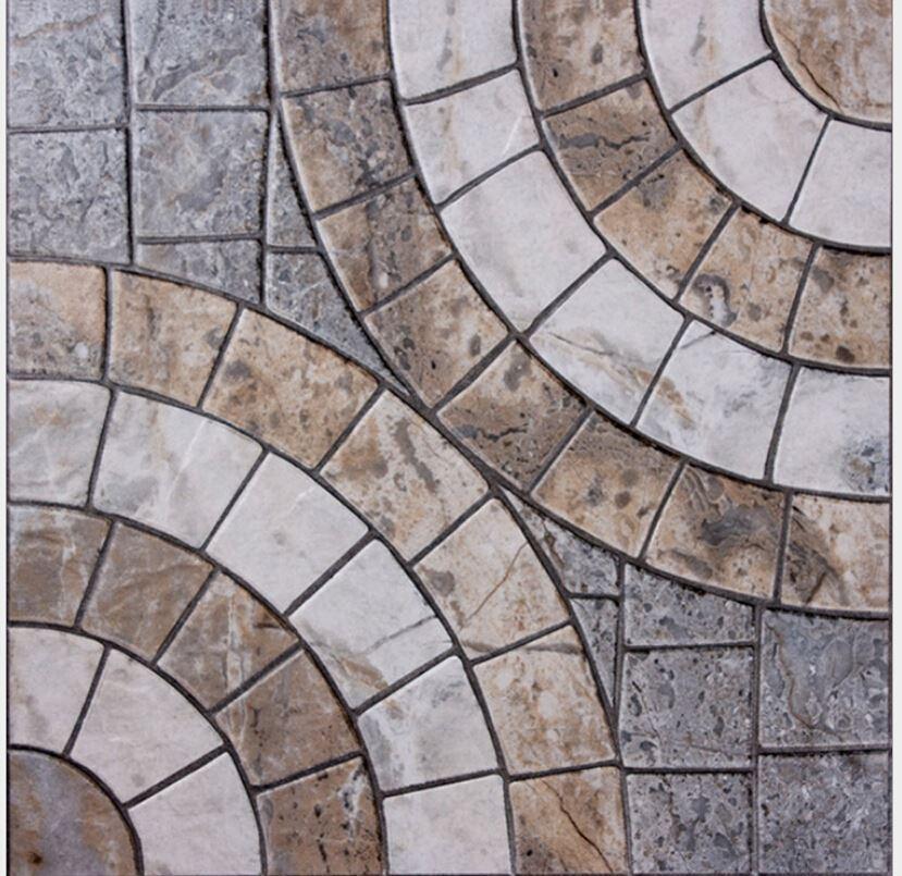 Ceramic Tile Is 400 * 400 Parquet Archaize Floor Tile Balcony Garden  Archaize Brick Prevent Slippery Floor Tile