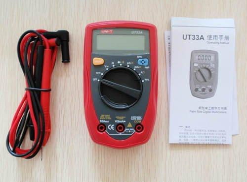 UT33A Palm Size Digital Multimeter UT-33A free shipping