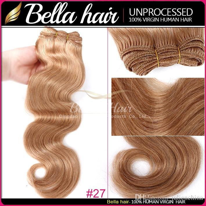 "Body Wave 14""-22"" Brazilian hair malaysian indian peruvian hair Colored human hair weft hair Extensions 100g/p"