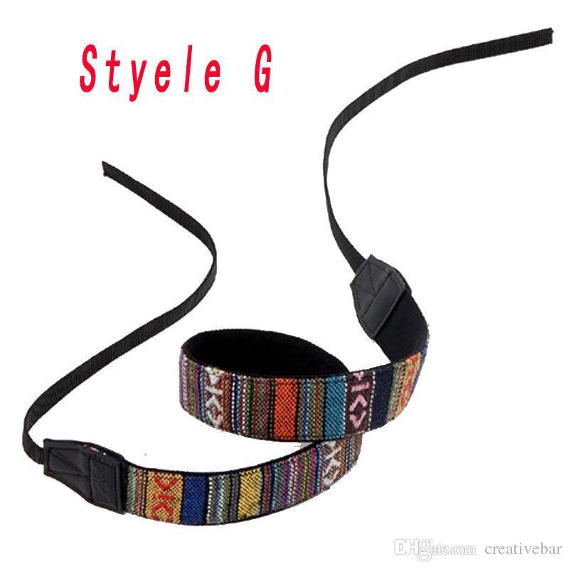 Wholesale Vintage Camera Shoulder Straps Neck Strap Belt For SLR DSLR Nikon Canon Sony Panasonic