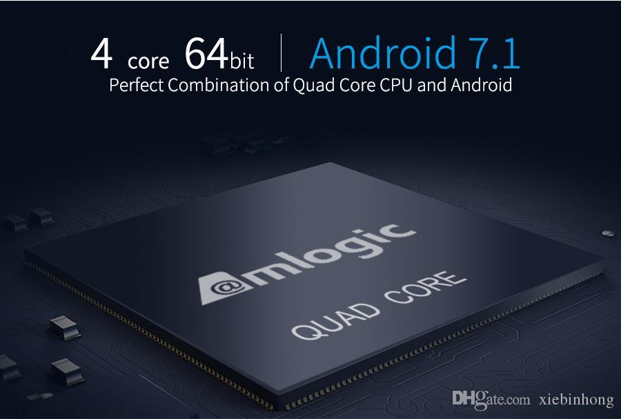 control de voz MECOOL M8S PRO W Android TV Box S905W Soporte CPU 2.4GHz WiFi 4K H.Top Box