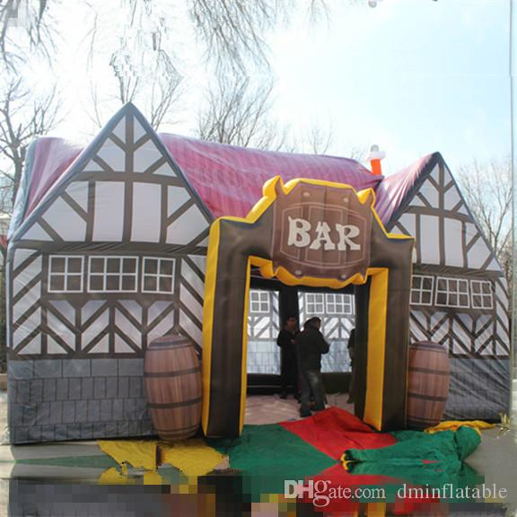 2018 Hot Sale Inflatable Pub BarInflatable Pub House Original Inflatable Irish Pubs Inflatable Exhibition Pub Tent For Beer Advertising From Dminflatable ... & 2018 Hot Sale Inflatable Pub BarInflatable Pub House Original ...