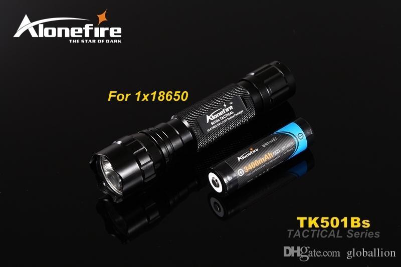 501B lampe de poche tactique 2000 lumens T6 fusil de chasse torche éclairage de fusil de chasse Shot Gun Mount + support tactique + interrupteur à distance