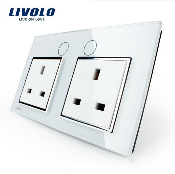 Großhandel Livolo Uk Standard Steckdose, Vl C7c2uk 11, Weiße ...