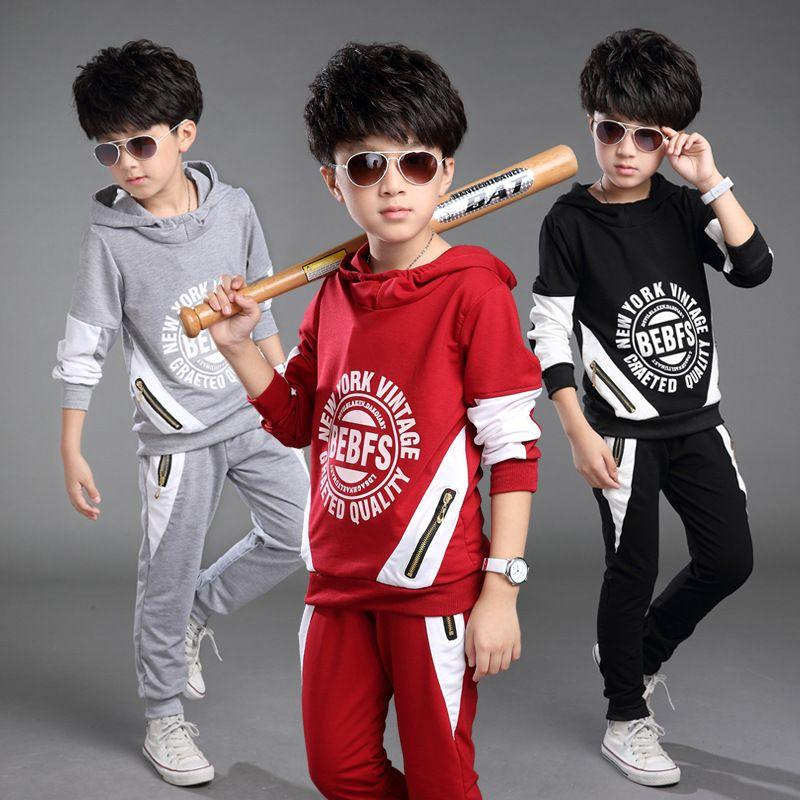 2019 Spring 2016 New Models Boys Suits Big Virgin Korean