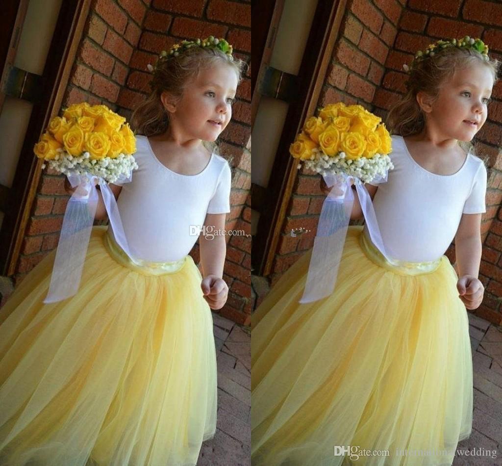 Tea Length Black Tulle Skirts For Girls Kids Children Custom Made Fashion Tutu Pettiskirts For Flower Girls Dresses