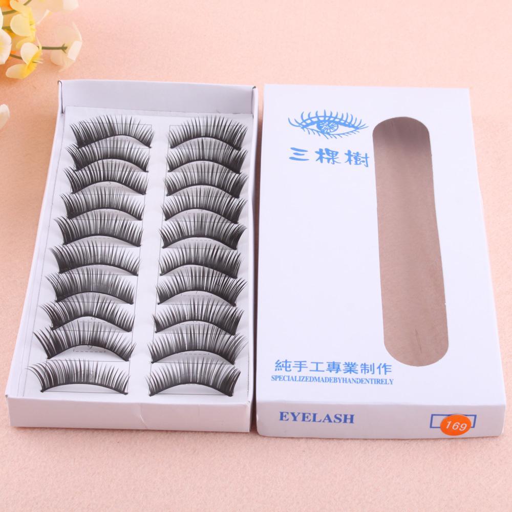 2014 New Fashion Eye Beauty Thick Volume False Fake Eyelashes Eye