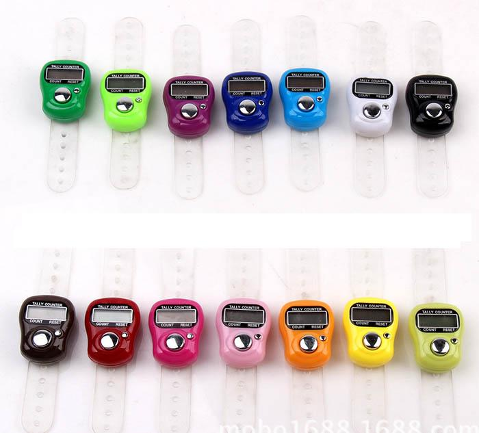 High quality promotional gift 1011 Tally Muslim Counter Finger Counters sxh5136 finger counter LED hand tally counters for muslim