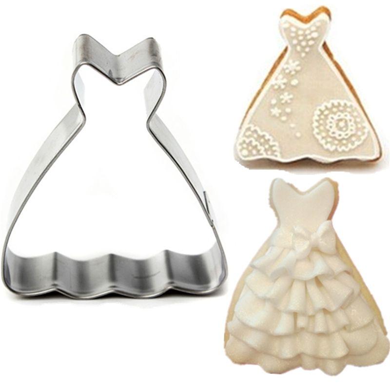 Online Cheap Wholesale Multi Function Diy Cake Mold Wedding Dress ...