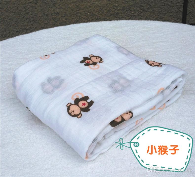 120 * 120cm 모슬린 담요 아기 담요 아기 담요 담요 아기 담요 아기 유아 담요 무료 배송 페덱스 무료 배송