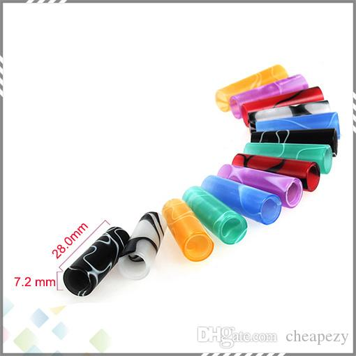 Rich Colors Friction Drip Tips 510 O-Ringless Drip Tips Candy Drip Tips 510 EGO Atomizer Mouthpieces for E Cigarette DHL Free