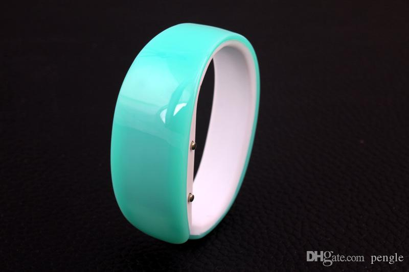 DHL Wholesales Newest Hot Sales Fashion Christmas Gifts Women LED Dolphins Bracelets Watches Digital Watch