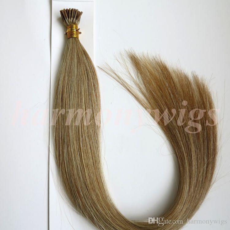 قبل المستعبدين I Tip البرازيلي الإنسان الشعر 50G 50Strands 18 20 22 24inch M8613 منتجات الشعر الهندي مستقيم